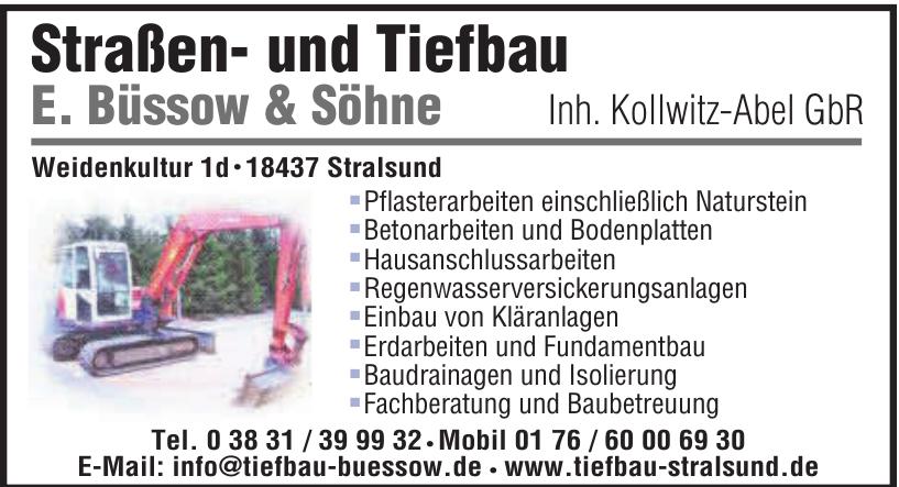 Straßen- und Tiefbau E. Büssow & Söhne