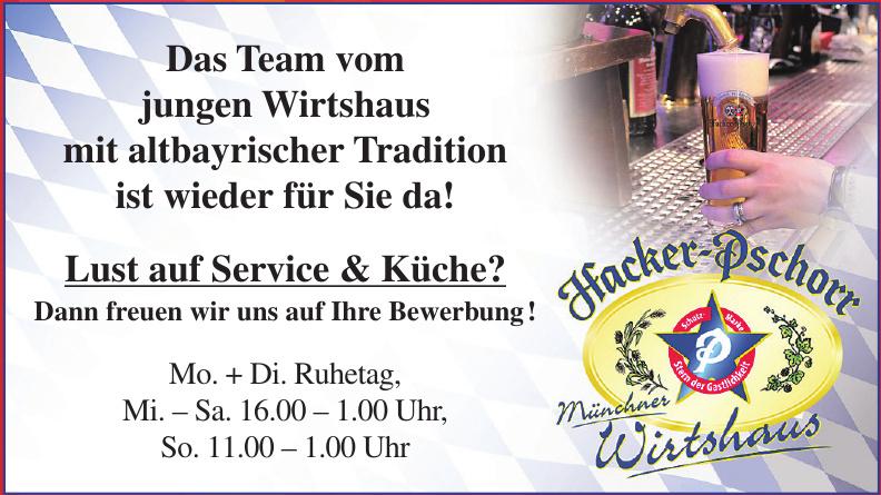 Hacker - Pschorr Münchner Wirtshaus