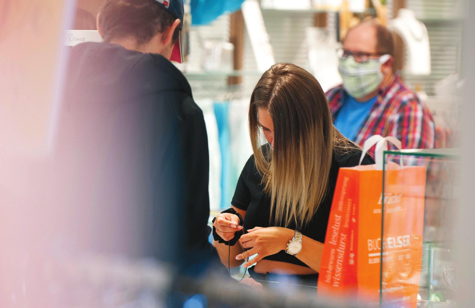 Zahlreiche Geschäfte in der Mühlacker Innenstadt sind beim Mühlacker Sommer mit von der Partie.