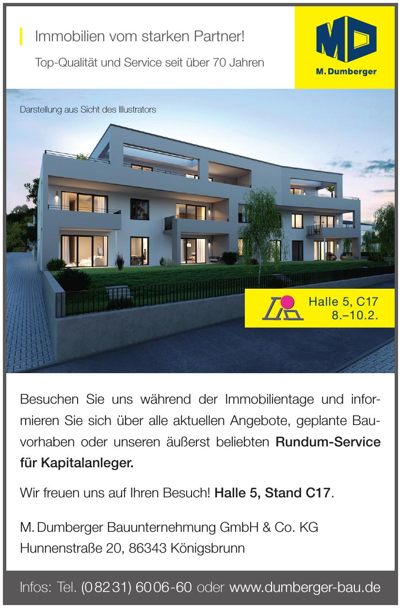 M. Dumberger Bauunternehmung GmbH & Co. KG