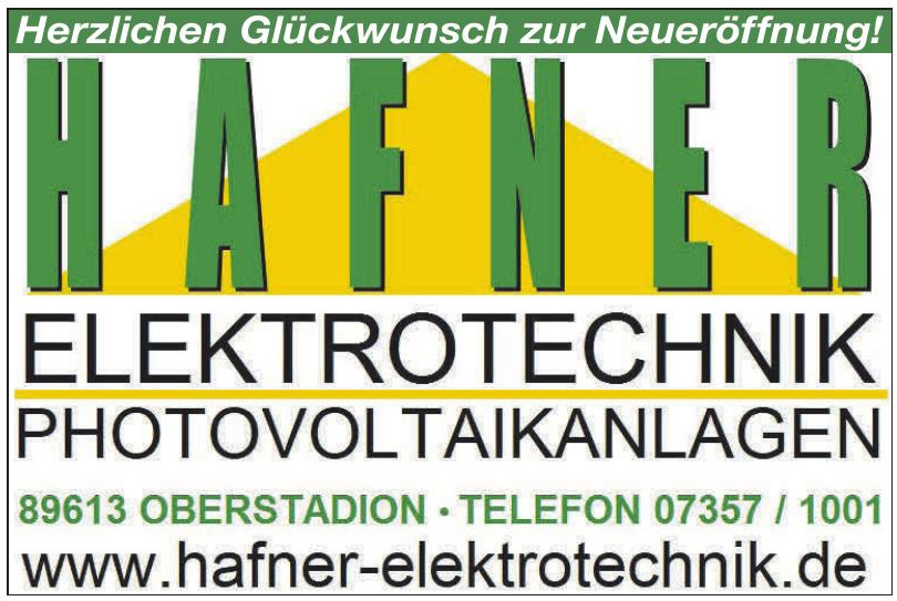 Hafner Elektrotechnik