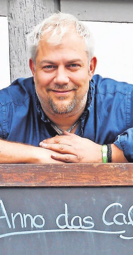 Marc Kretzschmar, Chef des Café Anno, hofft auf bessere Zeiten.