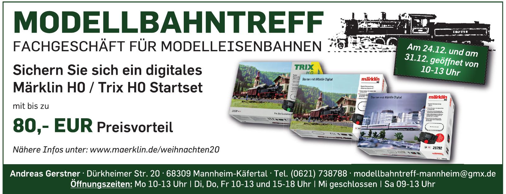 Modellbahntreff Andreas Gerstner