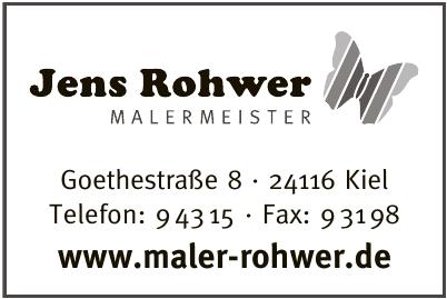 Jens Rohwer Malerbetrieb