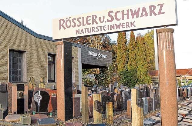 Ob Gedenkstein, Grabmal oder besonderes Objekt für den Garten – der Steinmetzbetrieb Rössler und Schwarz bietet die große Vielfalt. FOTO: TAU