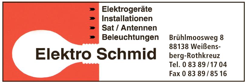 Elektro Schmid