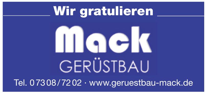 Mack Gerüstbau