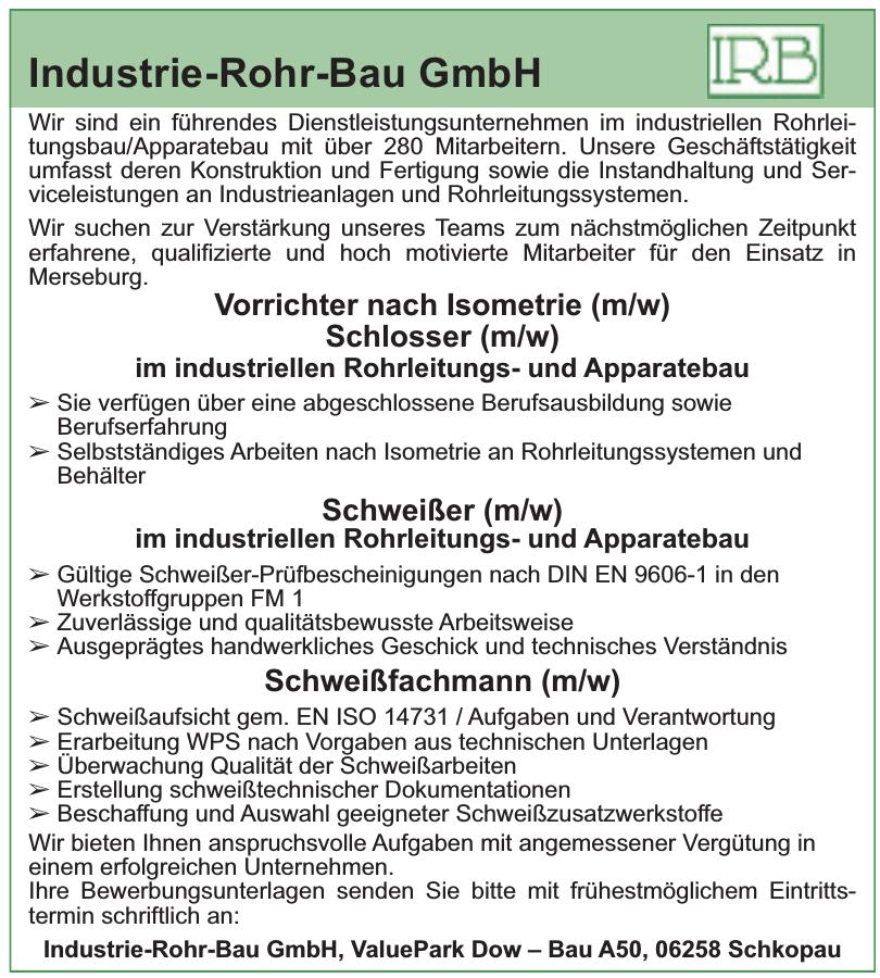 Industrie-Rohr-Bau GmbH