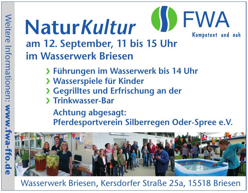 FWA Wasserwerk Briesen