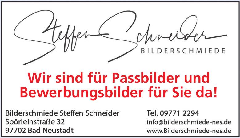 Bilderschmiede Steffen Schneider