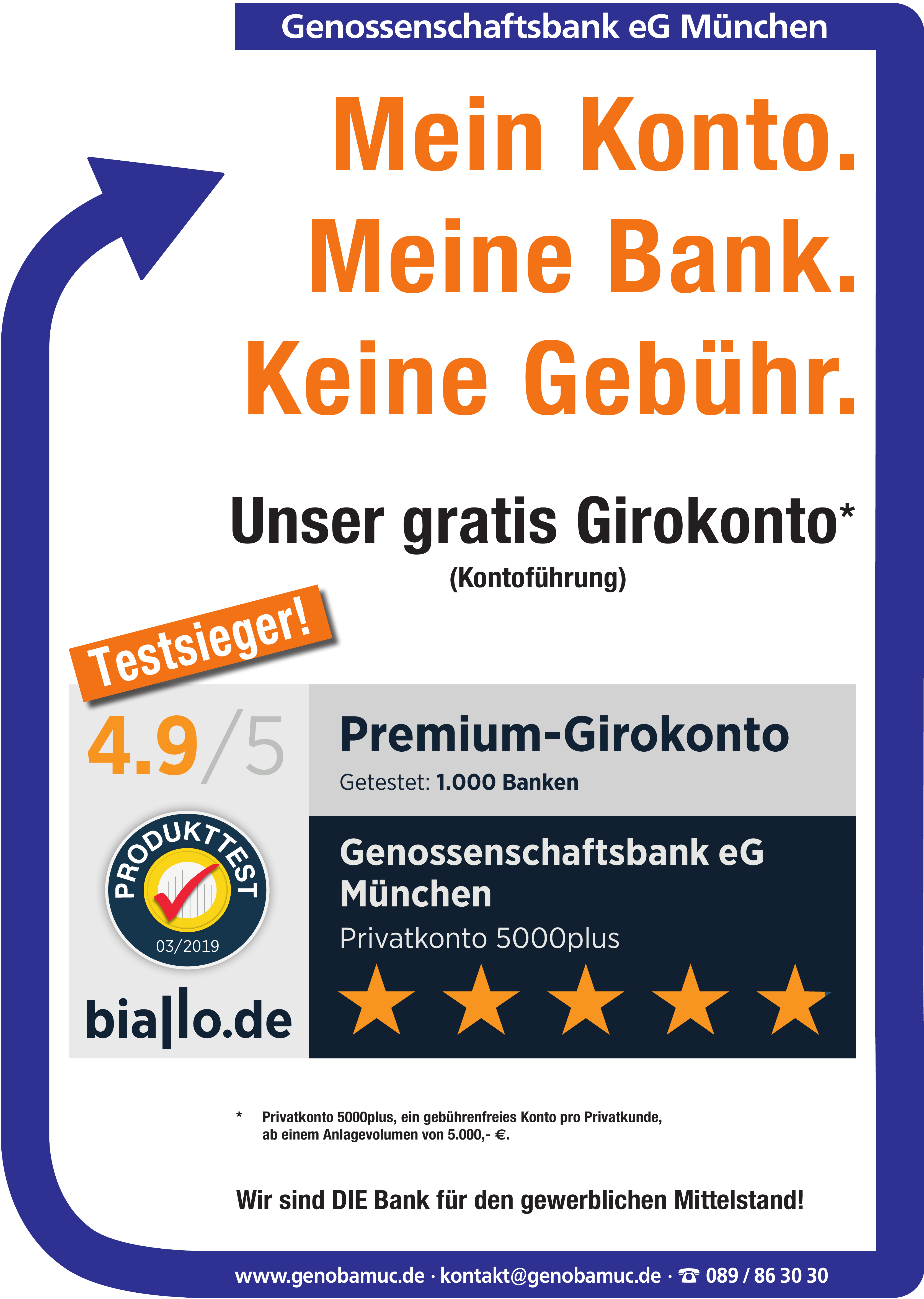Genossenschaftsbank eG München