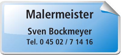 Malermeister Sven Bockmeyer