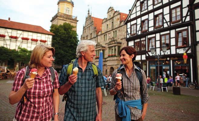 Ob in der in der Fachwerkstadt Rinteln oder am Weserrenaissance-Schloss Hämelschenburg – im Weserbergland gibt es viel zu entdecken.