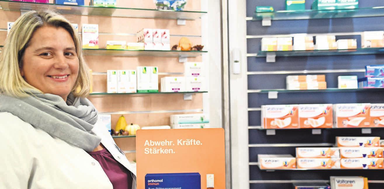 Zur Stärkung der Abwehr empfiehlt Sabine Kirchniawy neben gesunder Ernährung zusätzlich immunstabilisierende Präparate.
