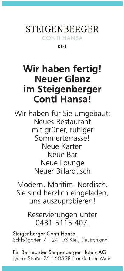 Steinberger Conti Hansa