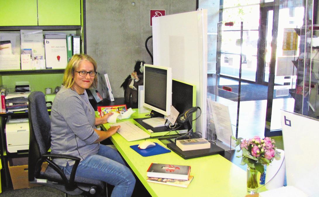 Karin Franz freut sich über die positive Resonanz seit der Wiedereröffnung