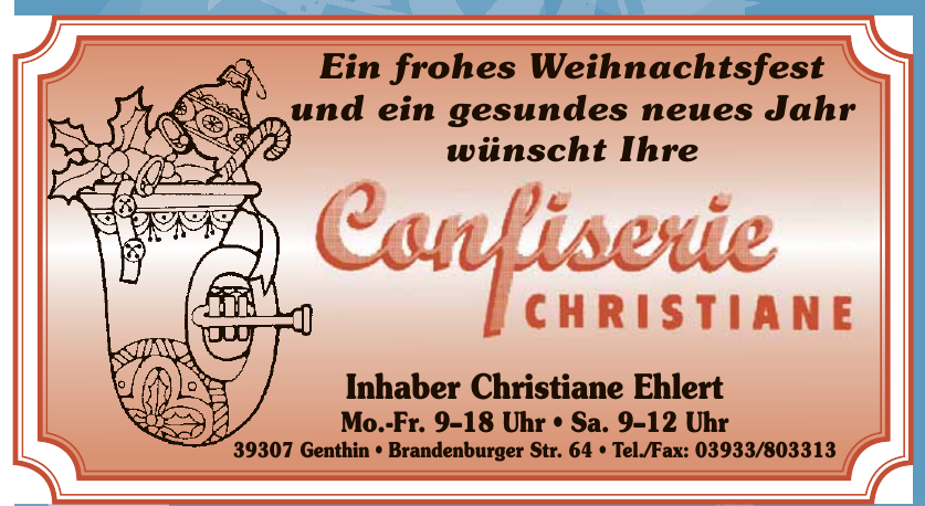 Confiserie Christiane