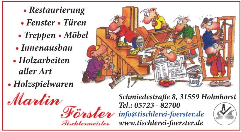 Martin Förster Tischlermeister