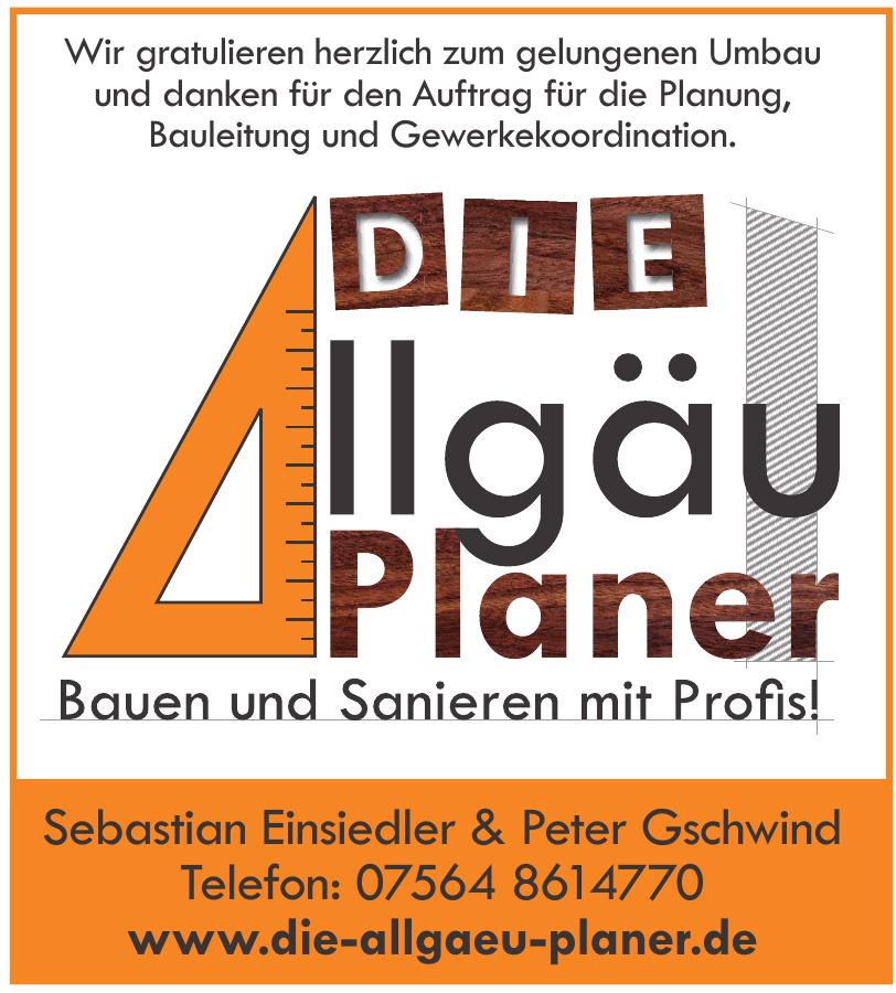 Die Allgäu Planer Sebastian Einsiedler & Peter Gschwind