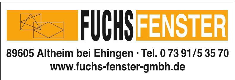 Fuchs Fenster