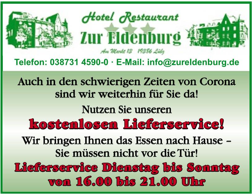 Hotel Restaurant Zur Eldenburg