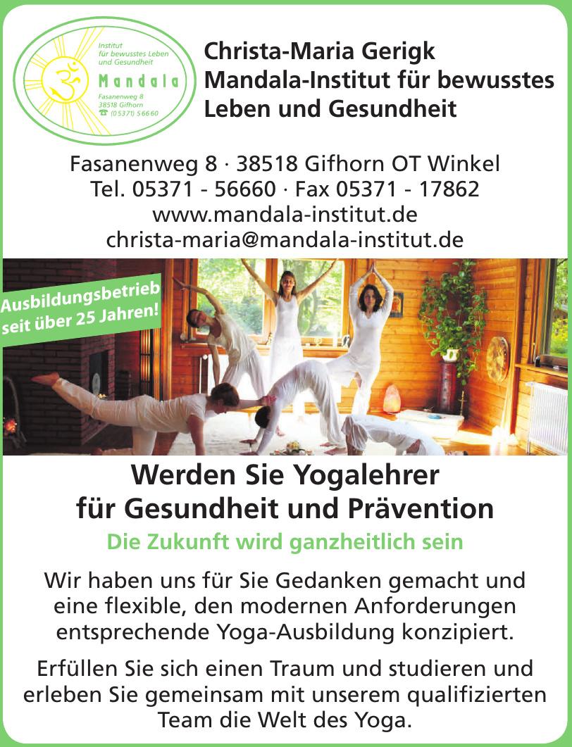 Mandala-Institut für bewusstes Leben und Gesundheit
