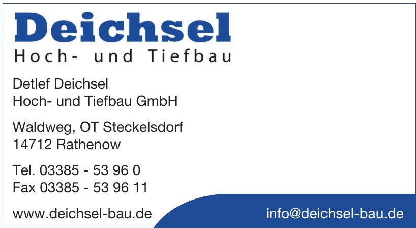 Detlef Deichsel Hoch- und Tiefbau GmbH