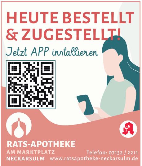 Rats-Apotheke am Marktplatz
