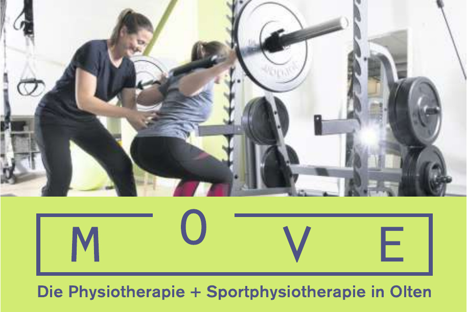 MOVE Die Physiotherpaie + Sportphysiotherpaie in Olten
