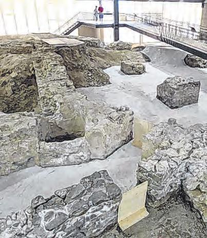 Ausgrabungen aus der Römerzeit Foto: OÖ Landes Kultur GmbH