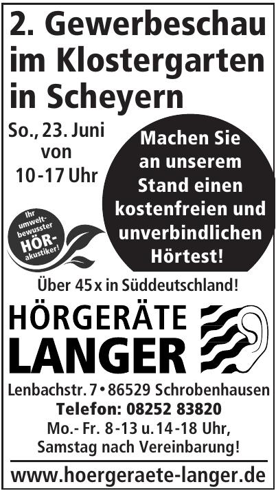 Hörgeräte Langer