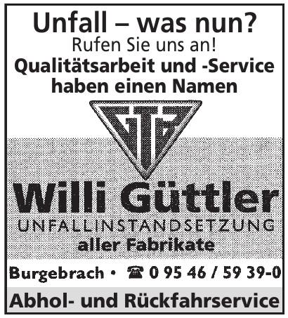 Willi Güttler
