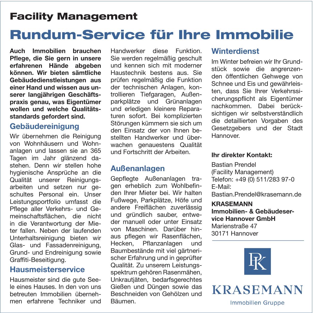 Krasemann Immobilien- & Gebäudeservice Hannover GmbH