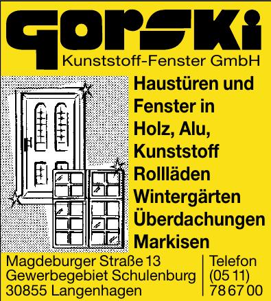 gorski Kunststoff-Fenster GmbH