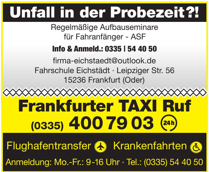 Frankfurter TAXI Ruf
