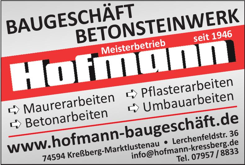 Baugeschäft Hofmann