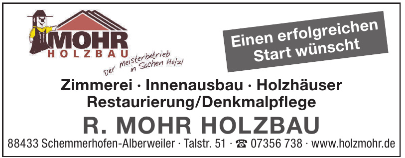 R. Mohr Holzbau