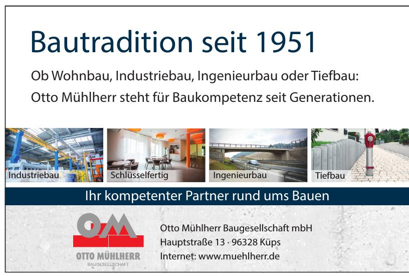 Otto Mühlherr Baugesellschaft mbH
