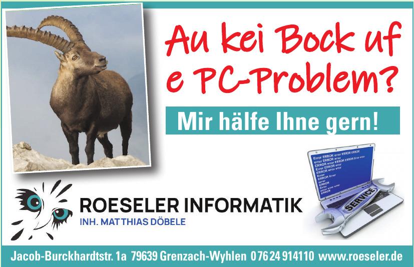 Roeseler Informatik