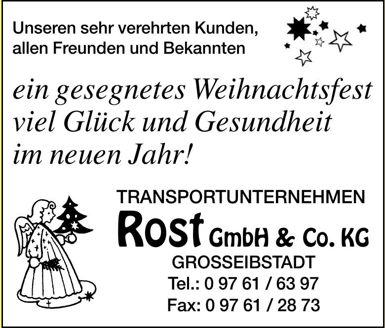 Transportunternehmen Rost GmbH & Co. KG