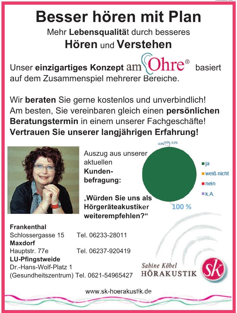 Sabine Köbel Hörakustik
