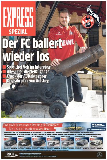 Rückrundenstart 1. FC Köln