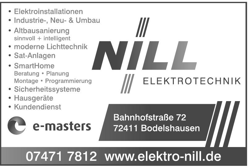 Elektrotechnik-Nill GmbH