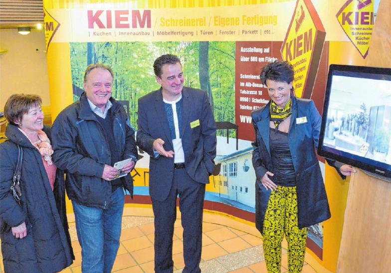 Direkt vom Hersteller und nach Maß gefertigt ist die Devise bei der Schreinerei Kiem in Hütten.