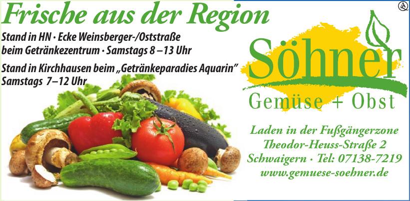Söhner Gemüse + Obst