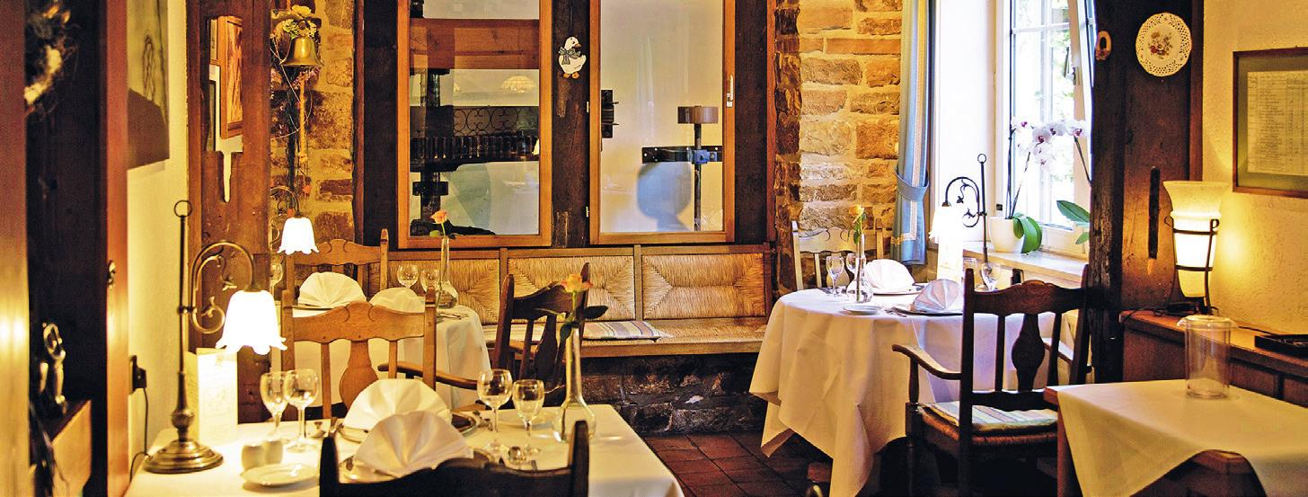 Blick ins Restaurant Brackstedter Mühle.