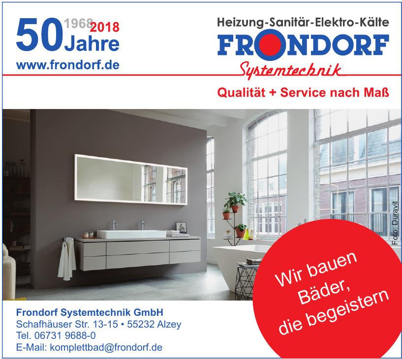Bernhard Frondorf Systemtechnik GmbH
