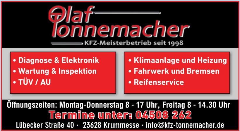Olaf Tonnemacher KFZ-Meisterbetrieb