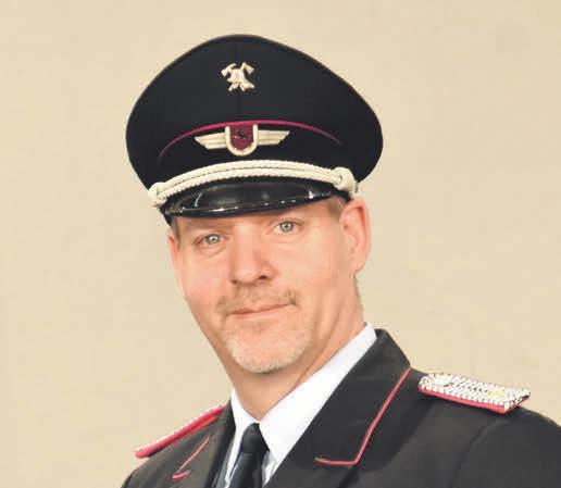Maik Schaffhauser, Ortsbrandmeister