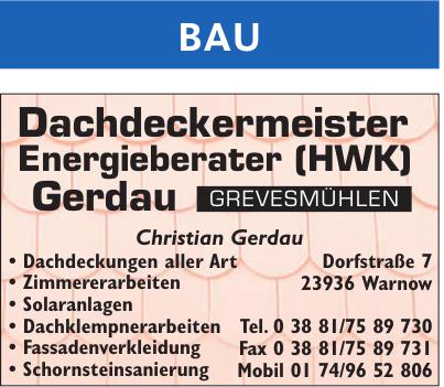 Christian Gerdau